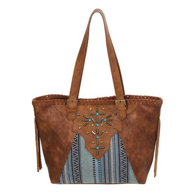 Catchfly Serape And Leather Concealed Carry Purse