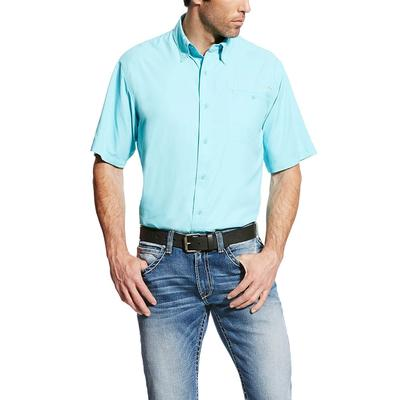 Ariat Men's Venttek Ii Blue Radiance Shirt