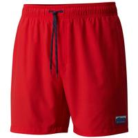 Columbia Men's Red Sparks Stars and Stripes Blue Magic Water Short