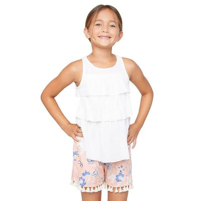 Hayden Girl's Layered Tank Top