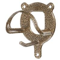 Tough-1® Hammered Metal Finish Bridle Holder