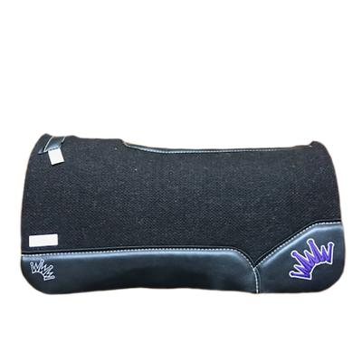 Best Ever Og Wool Pad With Black Leather Trim