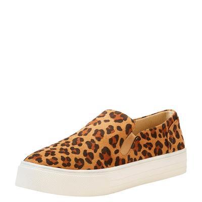 Ariat Women's Leopard Ace Slip On Sneakers