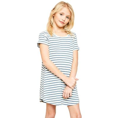 Hayden Girl's Stripe T- Shirt Dress