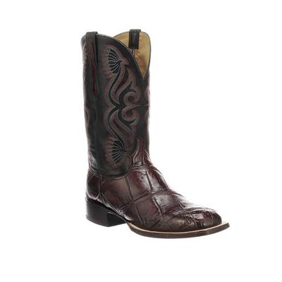 Lucchese Men's Black Cherry Roy Boots