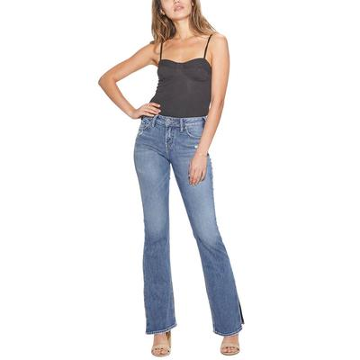 Silver Women's Medium Wash Avery Slim Boot Jeans