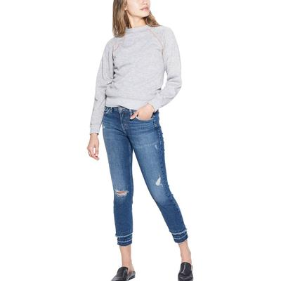 Silver Women's Medium Wash Aiko Skinny Ankle Jeans