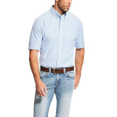 Ariat Men's Fitted Marrow Print Performance Shirt