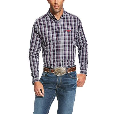 Ariat Men's Relentless Navy Power Plaid Shirt