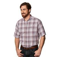 GameGuard Men's Plaid Classic MicroFiber Shirt