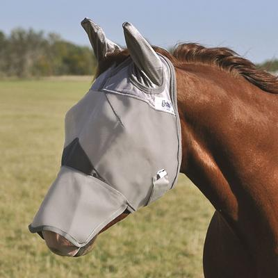 Cashel Crusader Long Nose Fly Mask With Ears, Small Horse/Arabian
