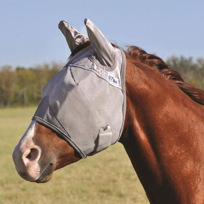 Cashel Crusader Fly Mask with Ears, Warmblood size