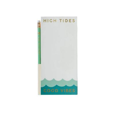 Spartina 449's Good Vibes Pencil List Pad