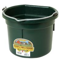 Miller Mfg. Little Giant 8 Qt. Flat Back Bucket, Green