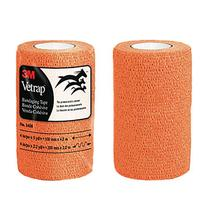 3M Vetrap Bandaging Tape, Orange
