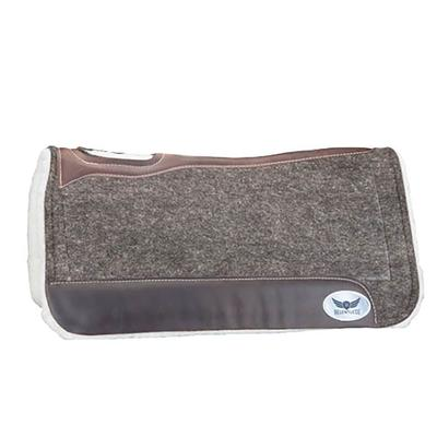Cactus Saddlery Relentless Fleece Bottom Roper Pad, Grey