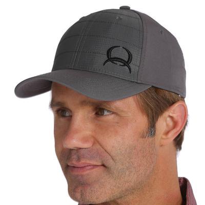 Cinch Men's Gray Arenaflex Ripstop Fitted Cap