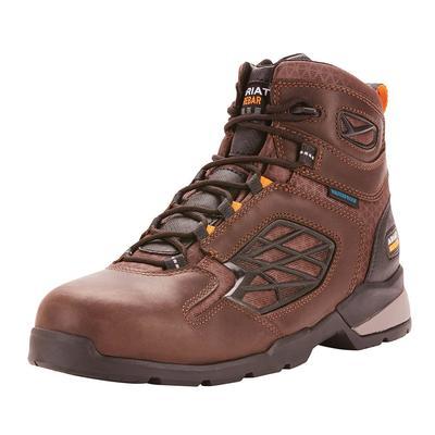 Ariat Men's Dark Brown Rebar Flex Composite Toe Work Boots