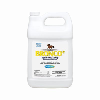Farnam Bronco®e Equine Fly Spray, Gallon