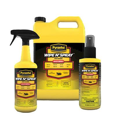 Pyranha Wipe N Spray™ Fly Repellent 1 Gallon