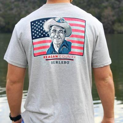Burlebo Men's Reagan Country T- Shirt