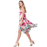 Kori America Women's Flower Printed Sun Dress
