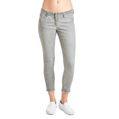 Dear John's Smoke Grey Joyrich Ankle Comfort Skinny Jeans