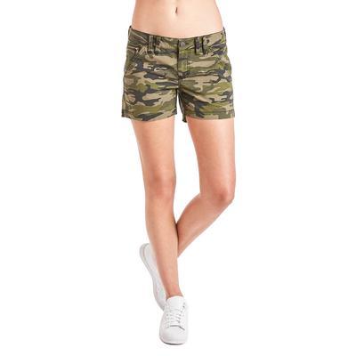 Dear John's Olive Camo Raylynn Cargo Shorts