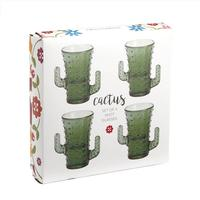 Cactus Shot Glass Gift Box Set