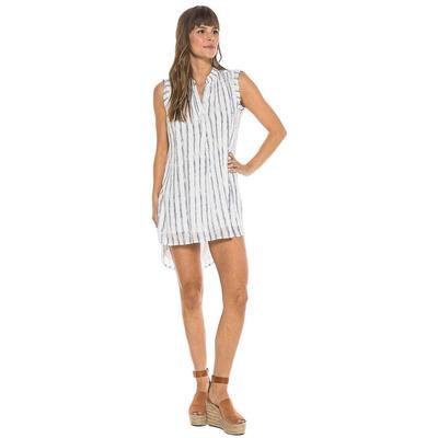 Bella Dahl Women's Capsleeve Pleat Front Dress