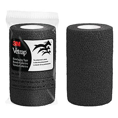 3m Vetrap Bandaging Tape, Black