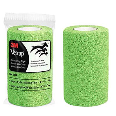 3m Vetrap Bandaging Tape, Lime Green