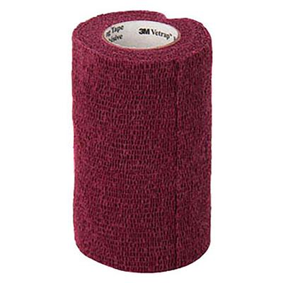 3m Vetrap Bandaging Tape, Burgundy