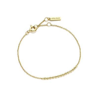 Ania Haie's Modern Minimalism Beaded Bracelet GOLD