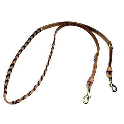 San Saba Equine Harness Leather Laced Rein