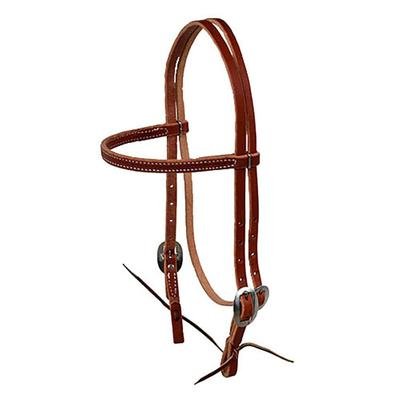 Berlin Custom Leather Day Worker Series Browband Headstall