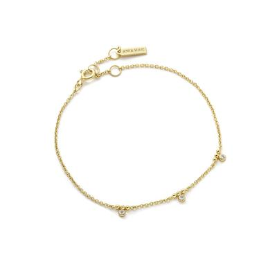 Ania Haie's Touch of Sparkle Stud Bracelet GOLD