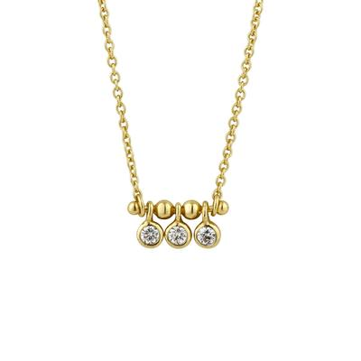 Ania Haie's Touch of Sparkle Stud Bar Necklace GOLD