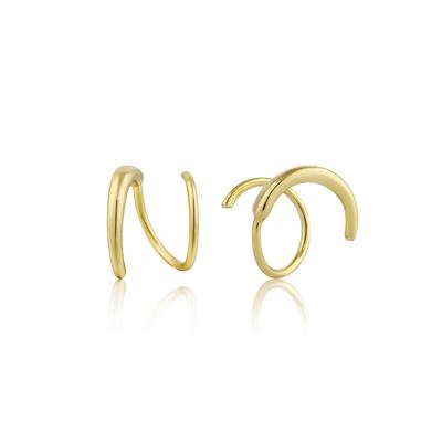 Ania Haie's All Ears Twist Earrings GOLD