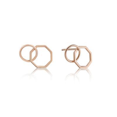 Ania Haie's All Ears Dual Loop Earrings RSG