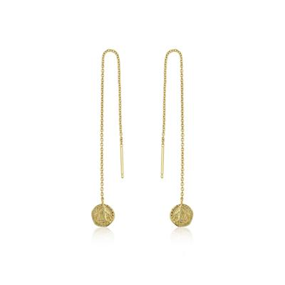 Ania Haie's Coin Drop Earrings GOLD