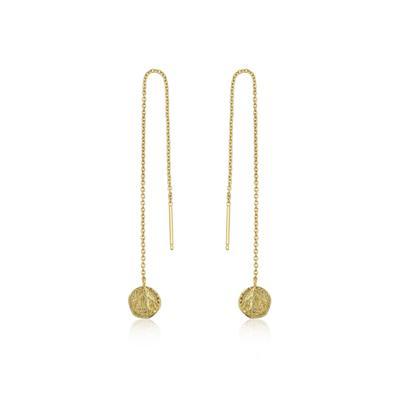 Ania Haie's Coin Drop Earrings GOLD