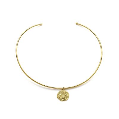 Ania Haie's Coin Choker Necklace GOLD