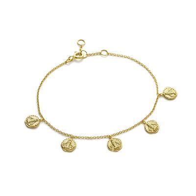 Ania Haie's Coin Bracelet GOLD