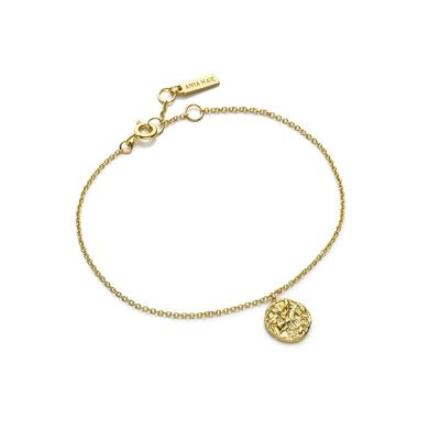 Ania Haie's Drop Medallion Bracelet GOLD