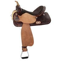 High Horse by Circle Y Eden Barrel Saddle 14