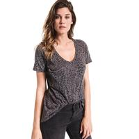 Z Supply Women's Leopard Pocket T-Shirt