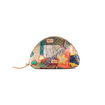 Consuela's Patches Large Dome Cosmetic Case