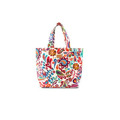 Consuela's White Swirly Mini Bag