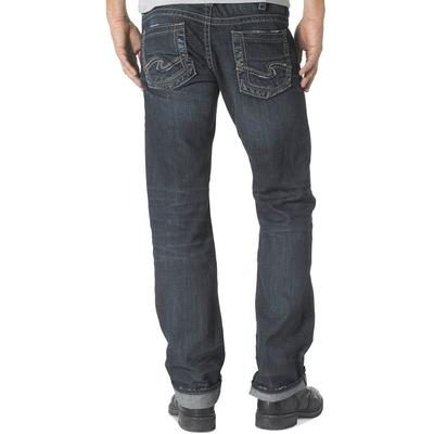 Silver Men's Nash Dark Wash Jean